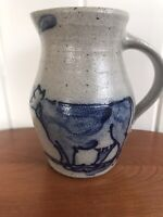 Vintage ROWE POTTERY WORKS Cambridge Wis. 1987 Country Home Coll Cow