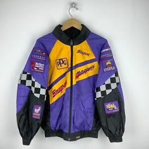 Snap-On Racing Vintage Choko Jacket Size Medium Purple Grand Prix Motorsports