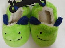 Prewalk Monster Slipper Infants 4 Green