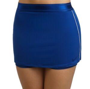 Nike Court Dry Tennis Skirt Dri Fit Size Medium Blue 939320-438 Sports Fitness