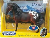 BREYER TSC Exclusive LAPWAI Appaloosa Spirit of The Horse Mustang NEW IN BOX