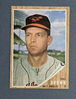1962 Topps #488 Hal Brown Baltimore Orioles EX+