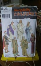 Oop Simplicity Costumes Schewe 8108 adult Easter Passion Play robes sz XS-XL NEW