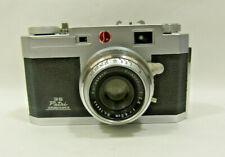 Vintage Petri 2.8 Color Corrected Super 28 35mm Camera w/Case & Manual Non-Op