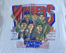 80s Vintage 1988 Minnesota Twins Winners Starting Lineup T-Shirt S-4XL P947