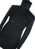BNWT MENS HACKETT LONDON NAVY HEAVY PEACOAT OVERCOAT COAT JACKET 42R UK 52 EUR