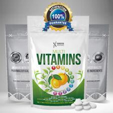 Multi Vitamins & Minerals Healthy Dietary Tablets Multi-vitamin Supplement Pills