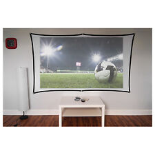 """Electrovision 100"""" Foldable Projector Screen Curtain 16:9"""