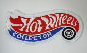 """HOT WHEELS Cars Collector Iron-On Collector Patch 4"""""""