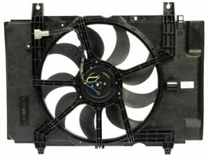 For 2009 Nissan Cube Auxiliary Fan Assembly Dorman 33525WQ Base