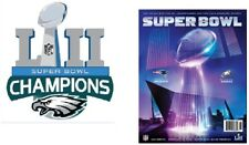 SUPER BOWL 52 PROGRAM NATIONAL PHILADELPHIA EAGLES CHAMPIONS SUPERBOWL LII UPC