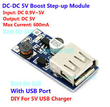 DC-DC 3V 3.7V to 5V USB 18650 Lithium Battery Boost Charging Charger Power Board