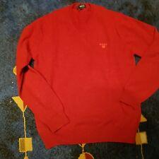 100%LAMBSWOLLE  Pullover  Gr.M Rot von GANT neu