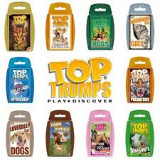 Top Trumps Animals Card Games - Brand New Sealed - Direct from Manufacturer