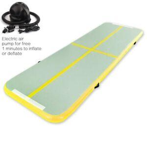 Inflatable Track Gymnastics Mattress Gym Tumble Airtrack Floor Yoga