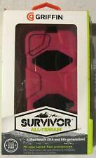 GRIFFIN GB35695-2 iPod touch (5th & 6th Gen) 5G Survivor Case (Pink/Black)