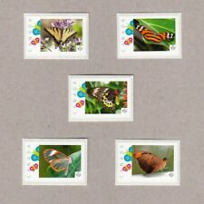 cp. BUTTERFLIES = set 5 Picture Postage stamps Canada 2017 [p17-02bt5]