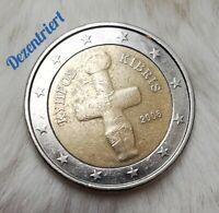 ➖2 Euro Münze➖ ___Zypern__2008___        ➖Fehlprägung!➖