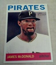 JAMES MCDONALD 2013 TOPPS HERITAGE CARD # 20 A1507
