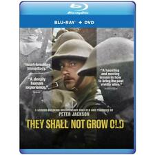 They Shall Not Grow Old (Blu-ray + DVD) Peter Jackson Documentary New!
