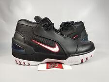 f9b93c19122 Nike LeBron AZG Air Zoom Generation BLACK FIRST GAME RED AJ4204-001 sz 7.5