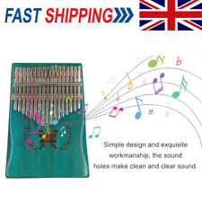 More details for 17-key kalimba thumb piano mahogany finger musical instrument for beginner a0x5