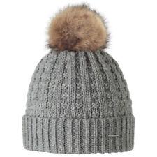 Gorra de mujer de color principal gris de piel