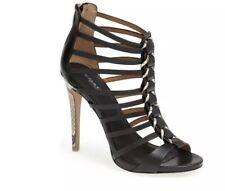 Coach Josey sandal heel snake python 9.5 nwob Women's Shoes Caged