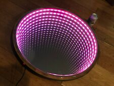 INFINITY MIRROR: Color Changing LEDs with Control Remote