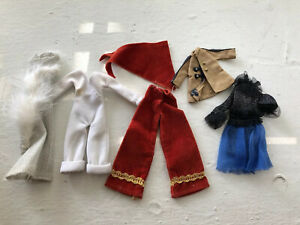 Vintage Charlies Angels Doll PEASANTRY Pants Clothing Outfits Lot
