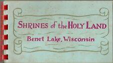 Shrines of the Holy Land Benet Lake Wisconsin Catholic Benedictine Abbey