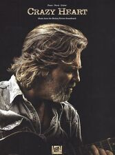 Crazy Heart Learn to Play Movie Film POP PIANO Guitar PVG Music Book