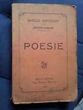 1912 giosue' carducci enotrio romano poesie