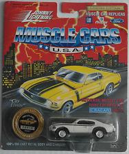 Johnny Lightning -'69/1969 Pontiac GTO Judge Bianco Nuovo/Scatola Originale