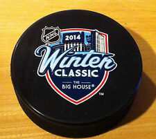 2014 Hockey Winter Classic Detroit Red Wings Toronto Maple Leafs Souvenir Puck