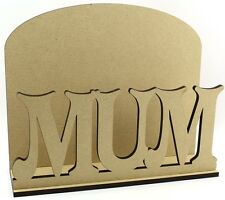 MAMMA LETTERA POSTA POST Rack-Laser Cut 6mm MDF-Mother 's Giorno Regalo Idea