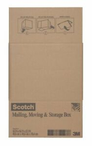 Scotch Folded Box, 16-Inches x 16-Inches x 12-Inches, Folded Box