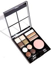 Makeup Eyeshadow Palette Kit w/ 5 Travel Size Brushes Set Includes 1 Blush Nude