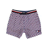 Tommy Hilfiger Mens Swim Trunks Bathing Suit Bottoms 5 Inch Flag Logo Pool New