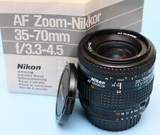 Nikon AF Nikkor 35-70mm 1:3.3-4.5 Zoom Lens for FX & DX cameras