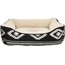 "New listing Harmony Black Aztec Dog Bed, 24"" L x 18"" W"