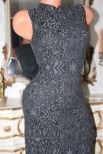 (17) NEXT Grey  Elasticated  Bodycon Dress size 8