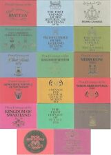 More details for commonwealth proof sets issued by the royal mint; 1965, 1970s & 1980s free uk pp