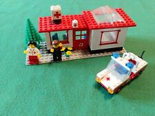 LEGO® 6364 Kranken-Station+Auto von 1980 / Paramedic  vintage rare legoland