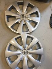 "2-2009 2010 2011  TOYOTA COROLLA HUBCAPS WHEEL COVERS  15""  HUB CAP WHEELCOVERS"