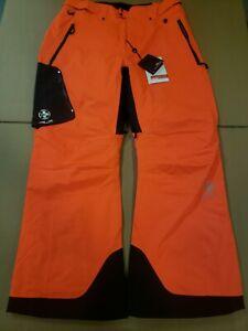 Mens Sz XXL Polo Ralph Lauren RLX Orange Insulated Cargo Pants Snowboard Recco