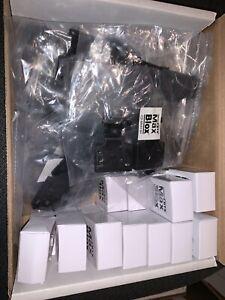 Lot Of 20 BTX CD-MX9M Connectors With CD-MX915H Hoods