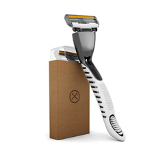 NEW Dollar Shave Club 4X Razor Handle + 4 Cartridges (4 Blades per Cartridge)