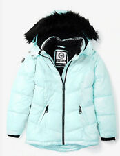 Justice Nwt Winter Puffer Blue Coat Jacket Girls Size 16/18💕💕💕
