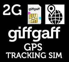 giffgaff 2G Sim Card For Car GPS Tracking Device Tracker  &£5 FREE* PAYG